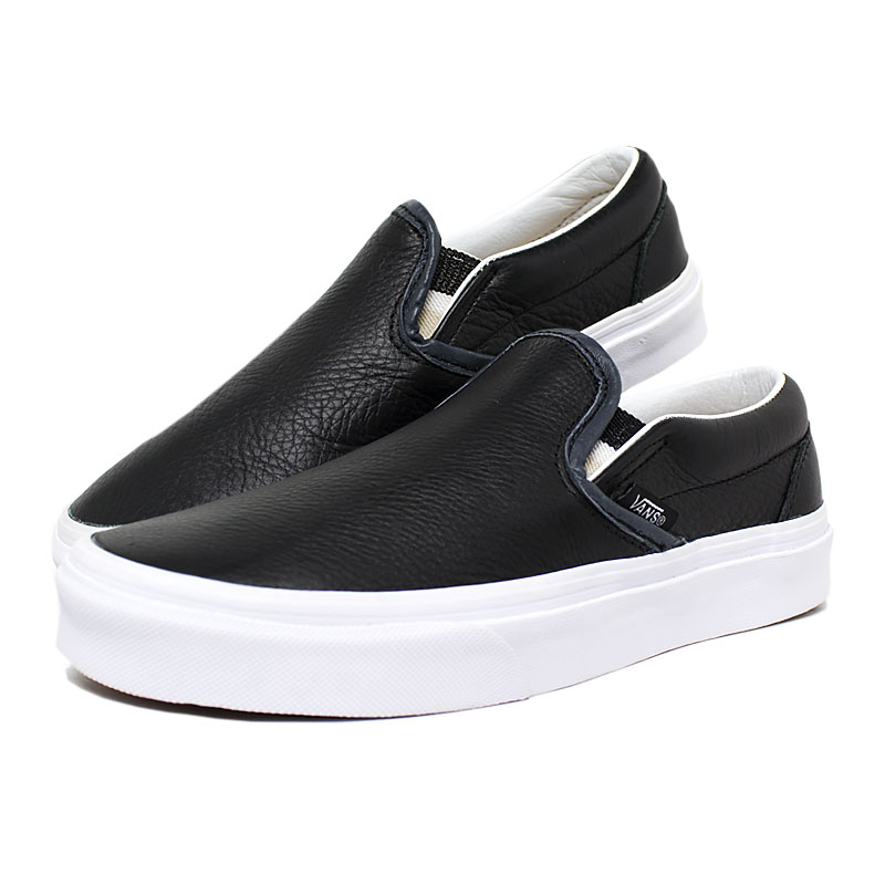 Tenis vans slip on lurex gore black 3