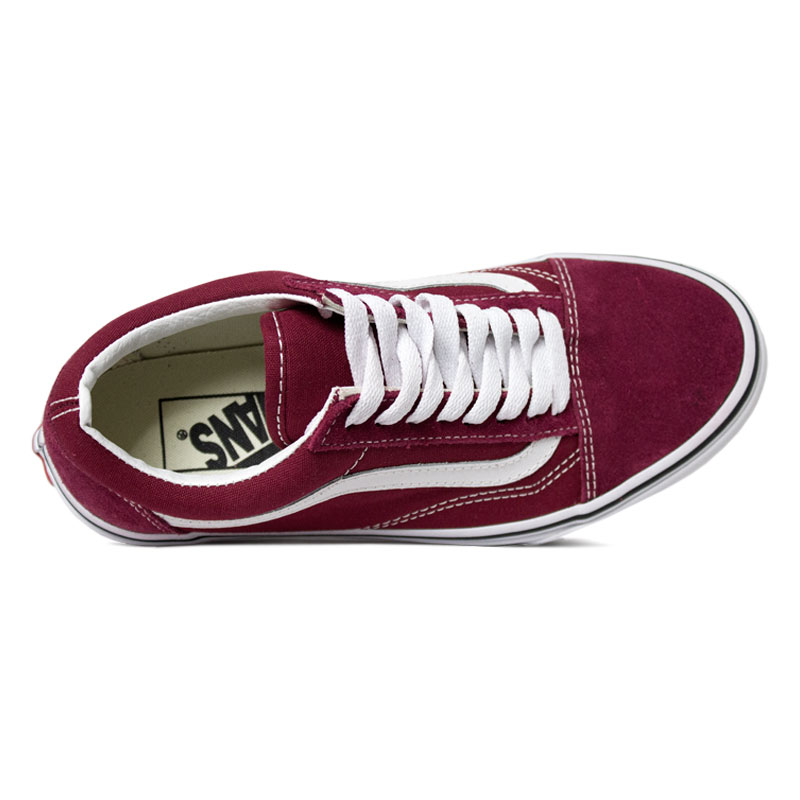 Tenis vans old skool rumba red 1