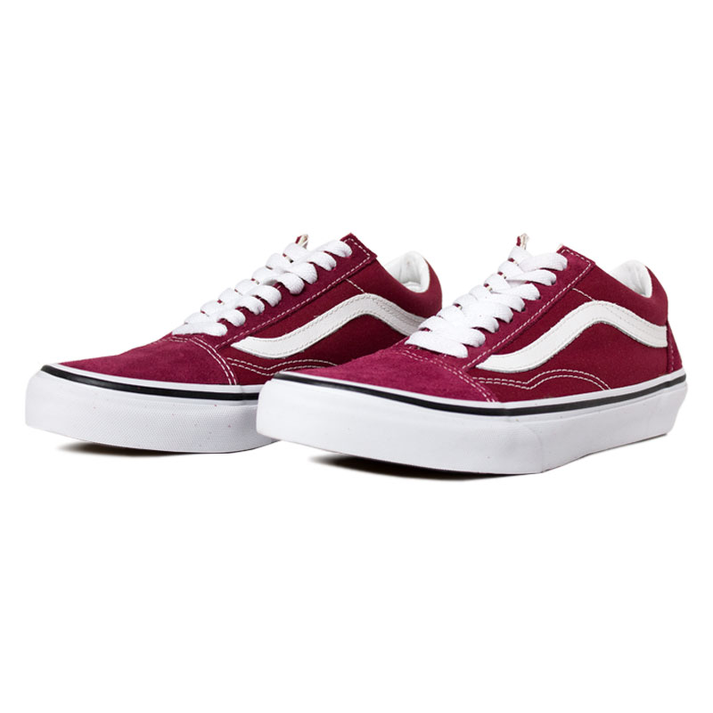 Tenis vans old skool rumba red 2