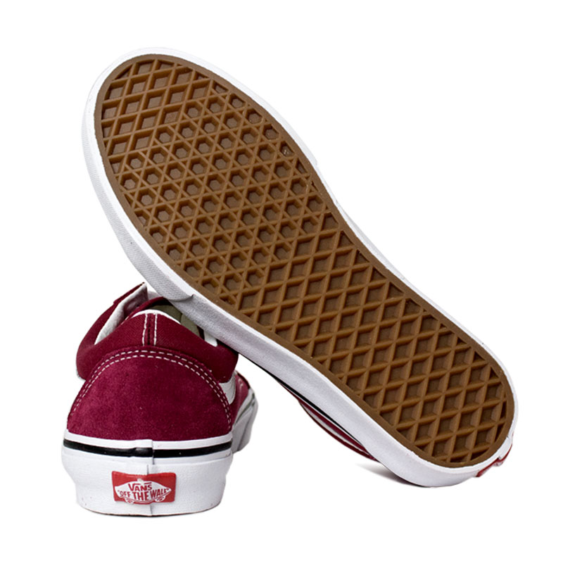 Tenis vans old skool rumba red 3