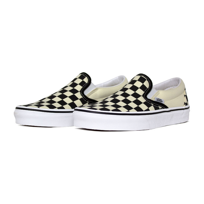 Tenis vans classic slip on checkerboard 1