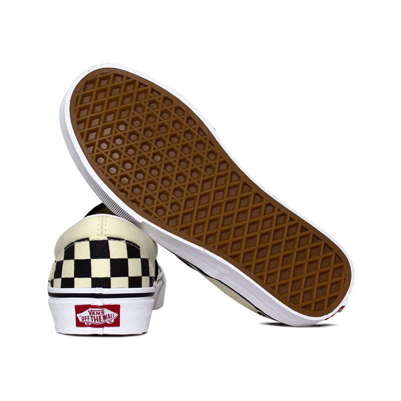 Tenis vans classic slip on checkerboard 3