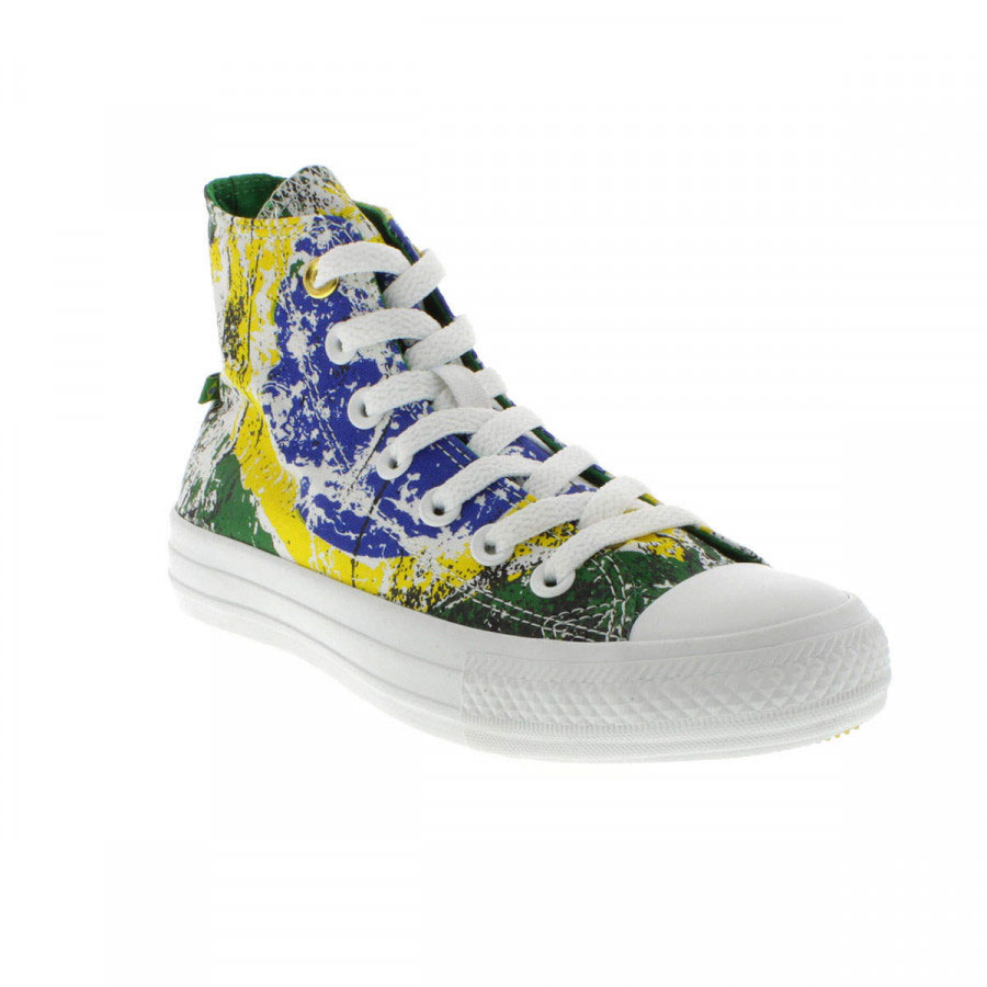 All star hi print verde floresta 1