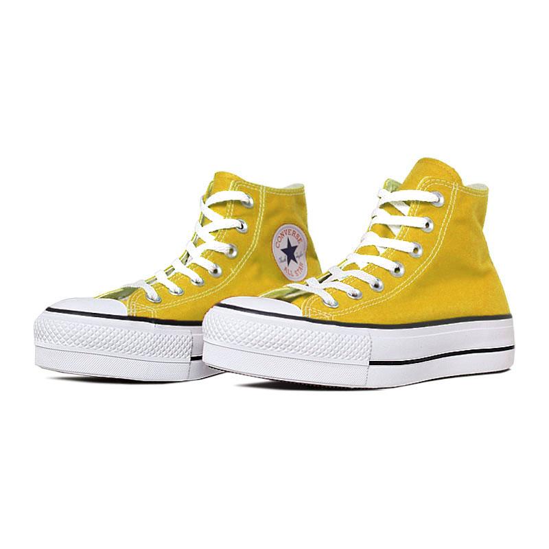All star seasonal plataforma hi amarelo vivo 1