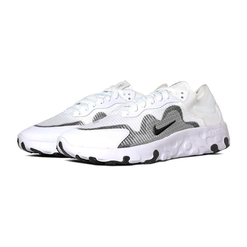 Nike explore lucent branco preto 3